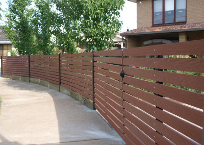 EnviroSlat Fence Solutions and elegant designs